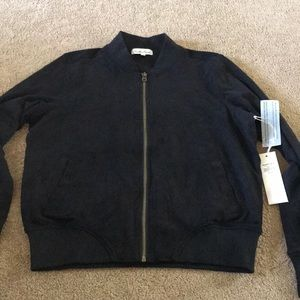 NWT Suede-like Jacket